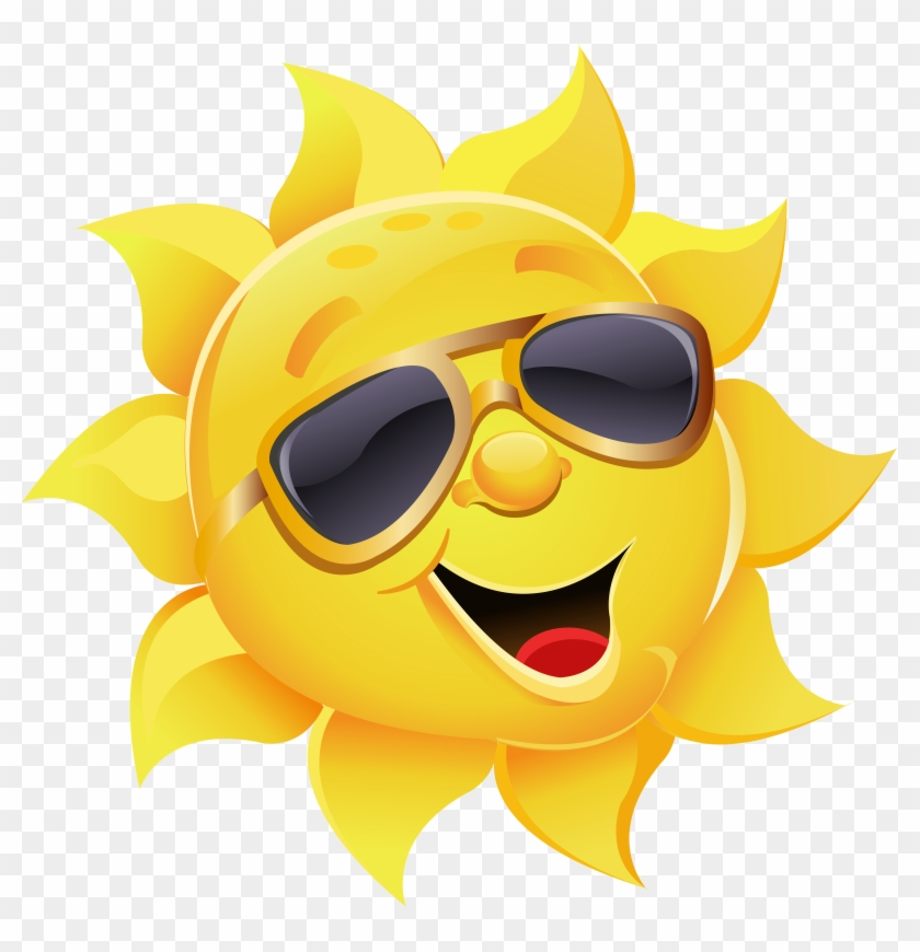 Sunglasses sun clipart picture transparent library Sun With Sunglasses Png Clipart Image - Sun With Sunglasses ... picture transparent library