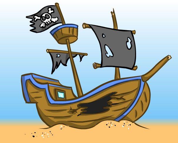Sunken treasure clipart banner library stock sunken+ship | Go Back > Gallery For > Cartoon Shipwreck ... banner library stock