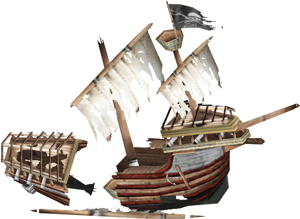 Sunken pirate ship clipart png library download HD Sunken Pirate Ship - Sunken Ship Transparent Background ... png library download