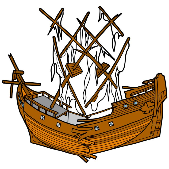 Sunken ship clipart image library download Sunken Ship Drawing | Free download best Sunken Ship Drawing ... image library download