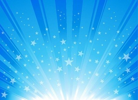 Sunlight burst blue clipart me vector stock Free Exploding Star Burst Backgrounds Clipart and Vector ... vector stock