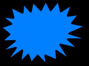 Sunnburst clipart image Blue Sunburst Clip Art at Clker.com - vector clip art online ... image