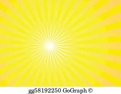 Sunnburst clipart clipart royalty free stock Sunburst Clip Art - Royalty Free - GoGraph clipart royalty free stock