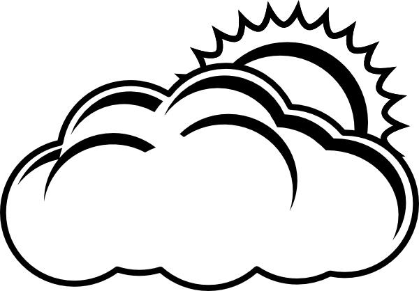 Sunny clipart black and white banner royalty free library Sunny Day Black And White Png & Free Sunny Day Black And ... banner royalty free library