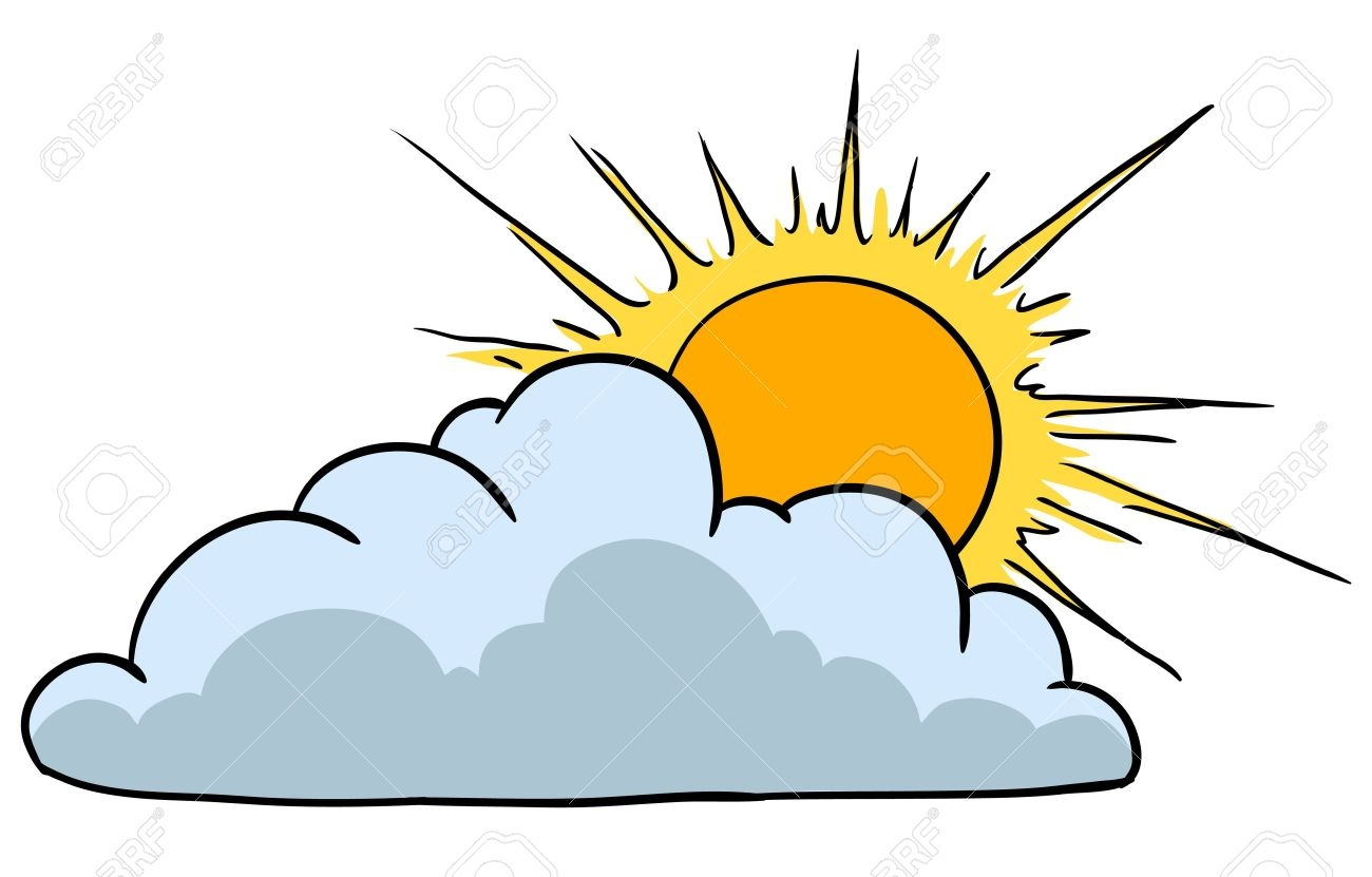 Sunny cloudy weather clipart banner download Collection of Sunny clipart | Free download best Sunny ... banner download