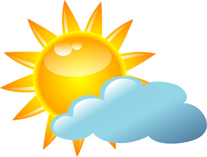 Sunny day with clouds clipart clipart Pictures Of Sunny Weather   Free download best Pictures Of ... clipart