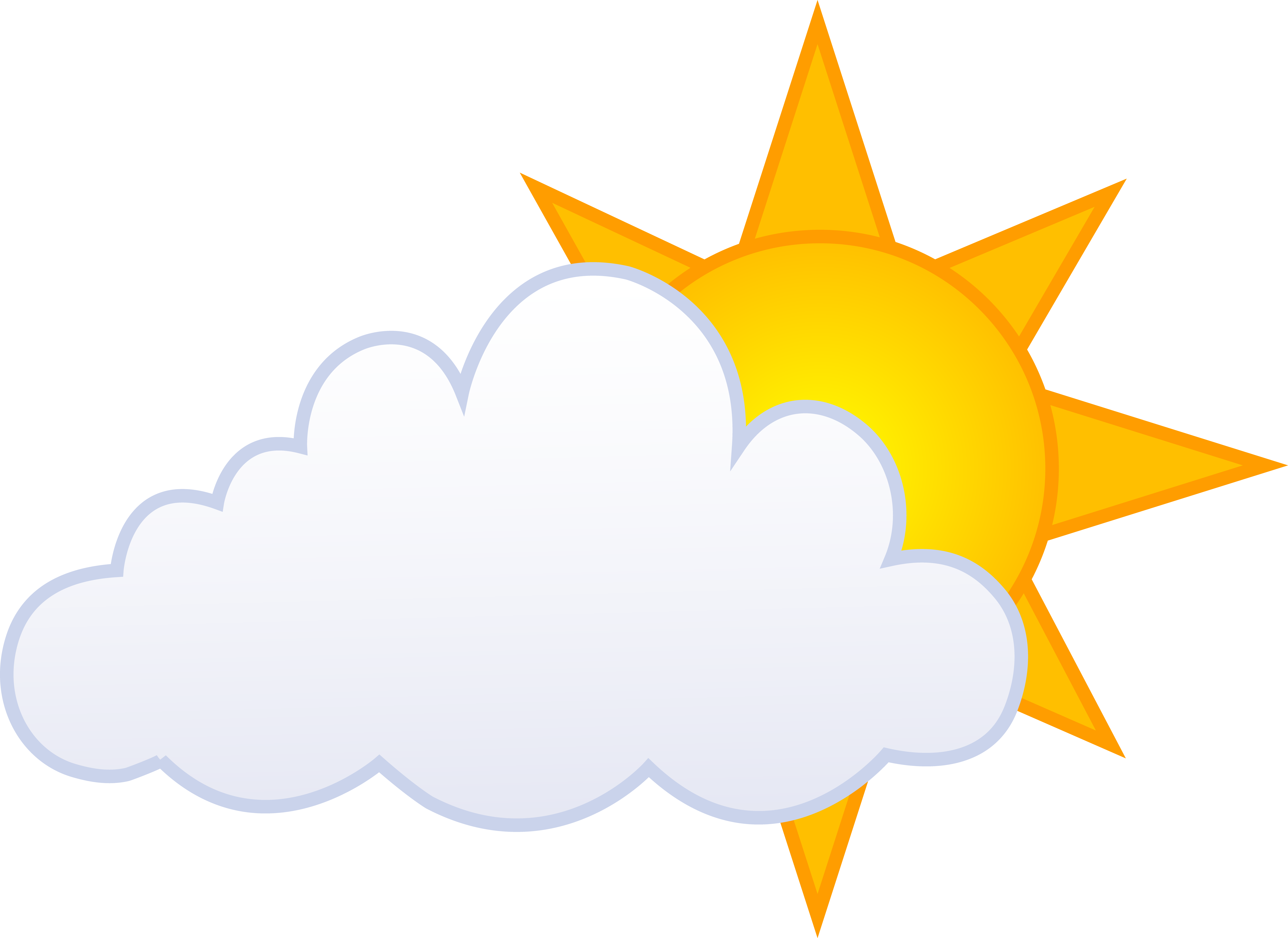 Sunny day with clouds clipart banner free stock Free Sunny Day Clipart, Download Free Clip Art, Free Clip ... banner free stock