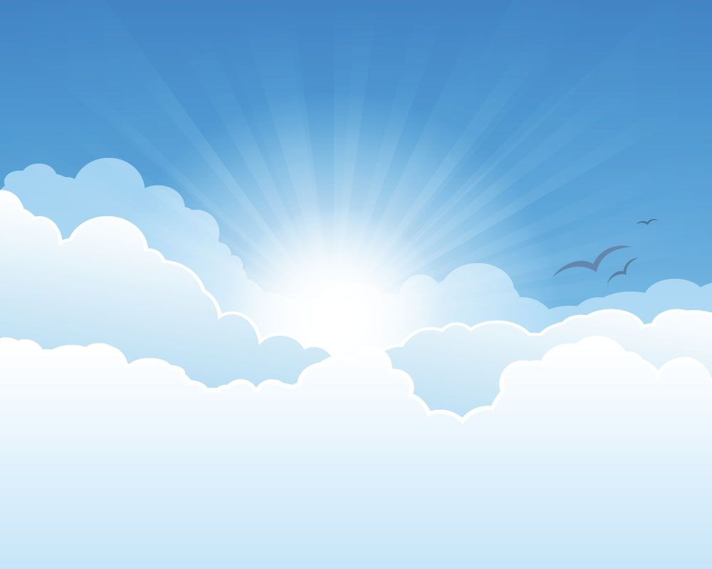 Sunny forest glen vector clipart clip art royalty free download Sunny sky and white clouds vector backgrounds 02 ... clip art royalty free download