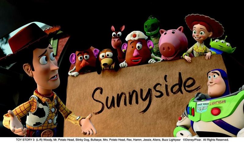 Sunny side clipart toy story