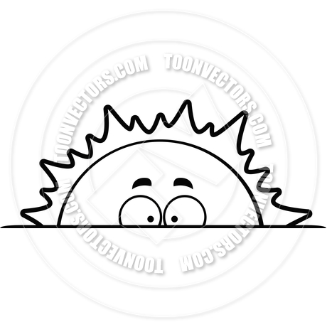 Sunrise black and white clipart graphic black and white library 13 Sunrise Vector Art Black Images - Black and White Sunrise ... graphic black and white library