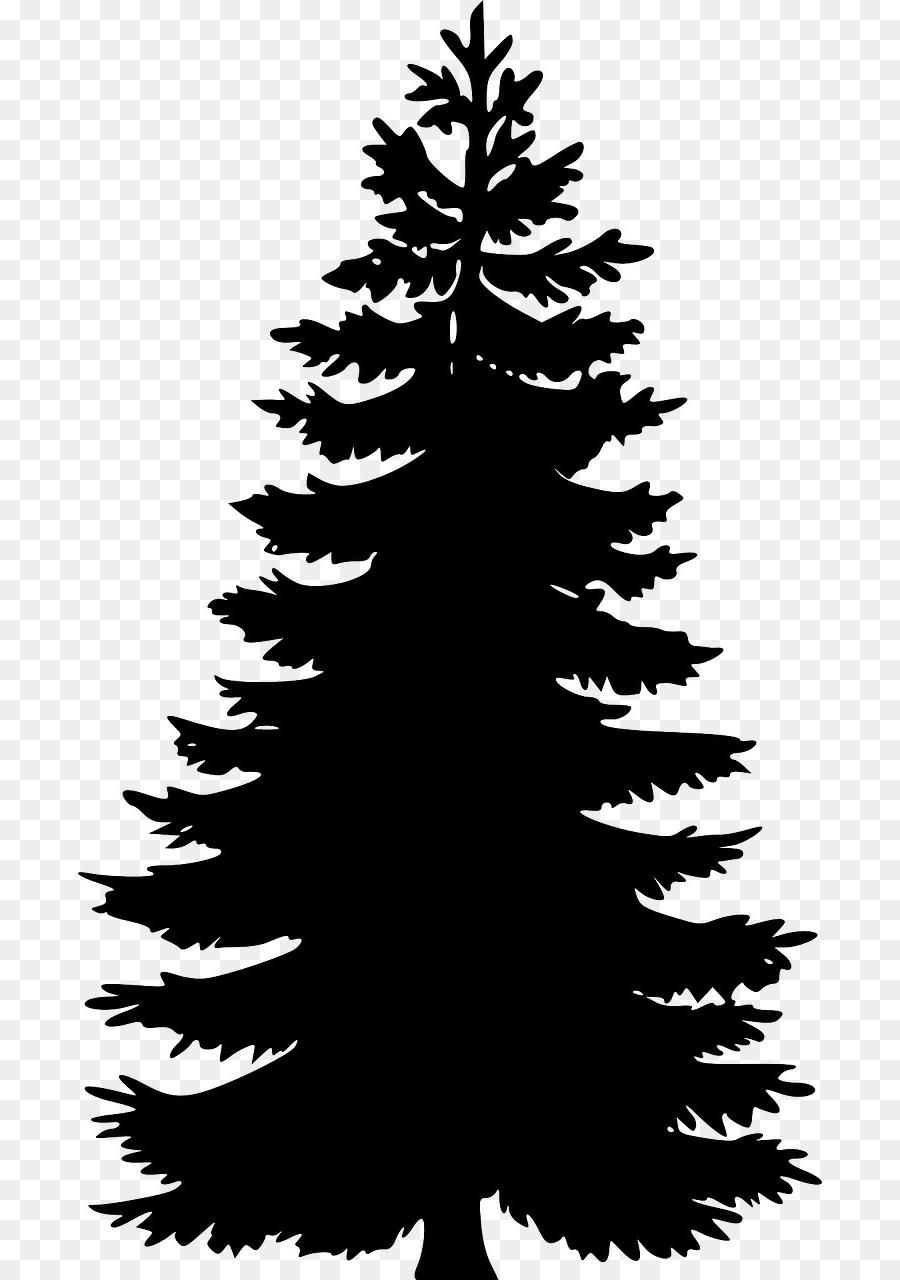 Sunrise with pinetrees clipart clip art freeuse Best HD Pine Tree Clip Art Black And White Design » Free ... clip art freeuse