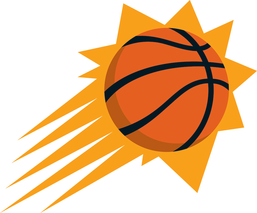 Suns basketball clipart graphic royalty free library NBA Teams graphic royalty free library