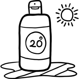Sunscreen black and white clipart picture black and white download Sunscreen Lotion clipart - 68 Sunscreen Lotion clip art picture black and white download