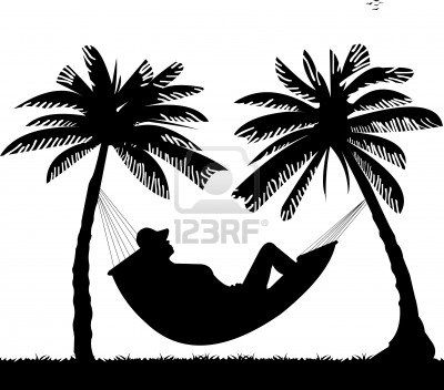 Sunset trees and hammock clipart black and white jpg freeuse Stock Vector | Goa | Beach silhouette, Silhouette clip art ... jpg freeuse