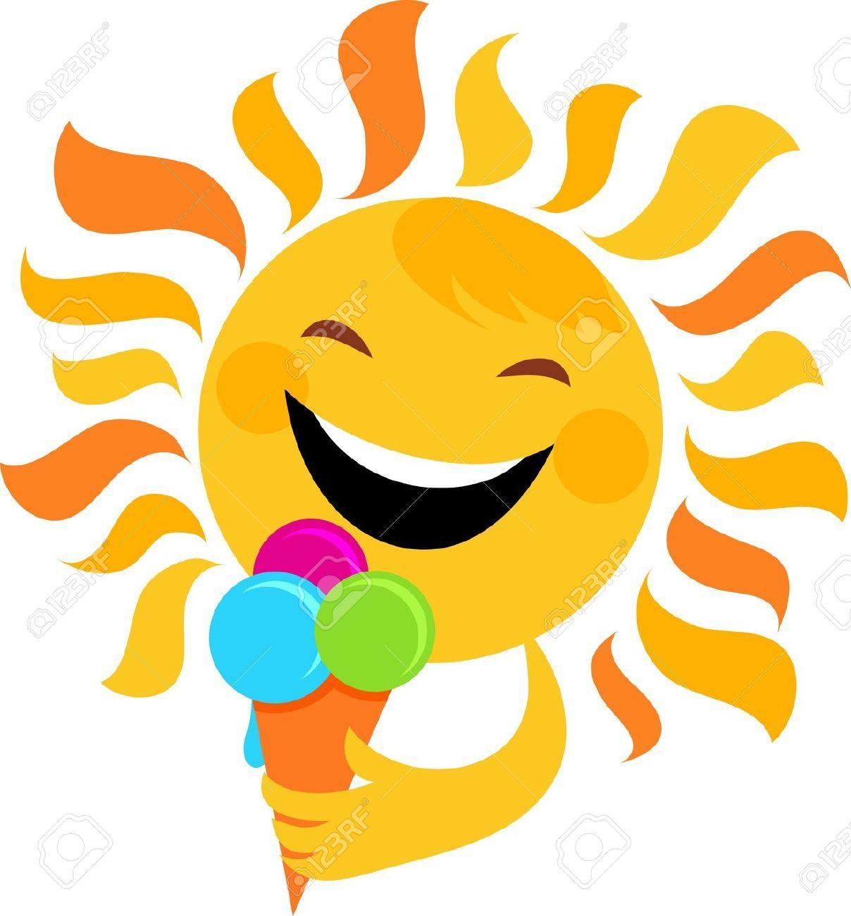 Sunshine and ice cream clipart jpg Pin by Joyce Matzen on August | Sun painting, Sun art, Sun jpg