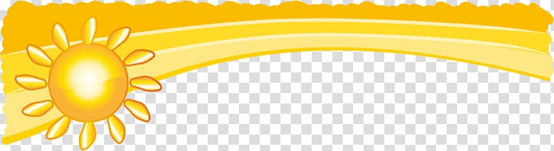 Sunshine border clipart picture freeuse download Sun border, Cartoon Yellow Illustration, Golden Sunshine ... picture freeuse download