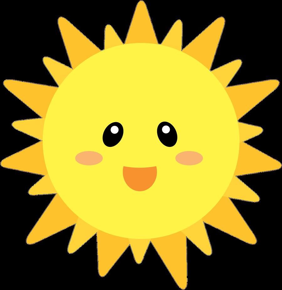 Sunshine kids clipart vector library library Minus - Say Hello! | Clip Art | Clip art, Sun illustration ... vector library library