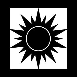 Sunshine silhouette clipart vector stock Pin by Wendy Purvis on Sillouhette | Sun silhouette, Sun ... vector stock