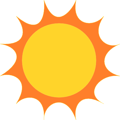 Sunshine silhouette clipart jpg free Sun clipart silhouette clipartsgram - Clipartable.com jpg free