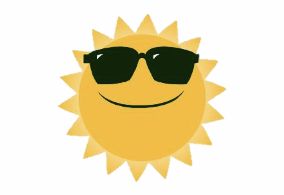 Sunshine with sunglasses clipart svg royalty free library Clipart Of Happy Sunshine - Sad Sun With Sunglasses ... svg royalty free library