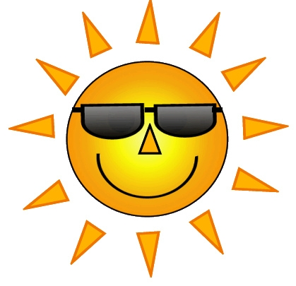 Sunshine with sunglasses clipart image library download Sunshine With Sunglasses Clip Art   CINEMAS 93 image library download