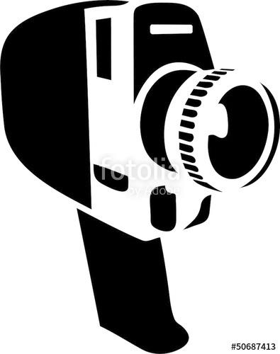 Super 8 clipart banner black and white download Super 8 Kamera\