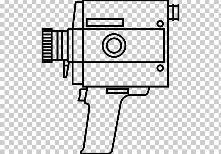 Super 8 clipart svg black and white stock Super 8 Film Video Cameras Photography PNG, Clipart, Angle ... svg black and white stock