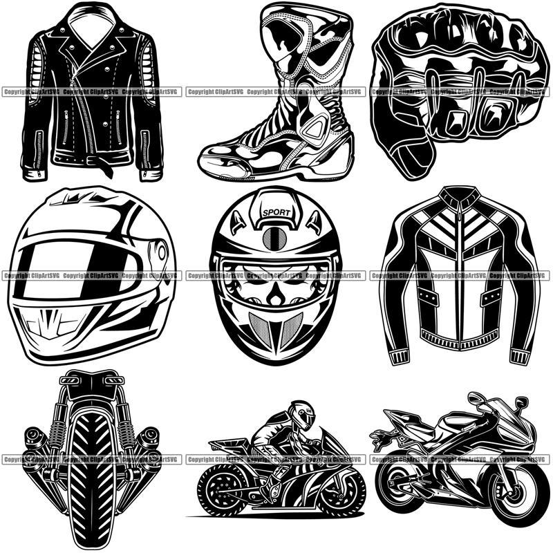 Super bike clipart jpg royalty free 9 Motorcycle Superbike Super Bike Top Selling Designs Service Repair Shop  Biker Race Racing BUNDLE ClipArt SVG jpg royalty free
