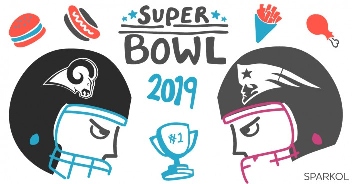 Super bowl 2019 clipart png library library SUPER BOWL 2019: Free invitation template for your party ... png library library