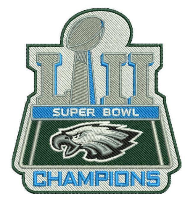 Super bowl 52 logo clipart picture transparent stock Details about Philadelphia Eagles Super Bowl LII Champions ... picture transparent stock