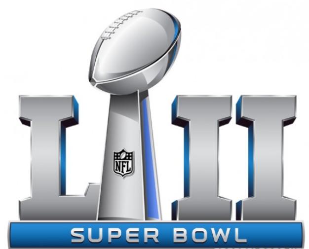 Super bowl 52 logo clipart clip art library library Super Bowl 52 Logo Silhouette clip art library library