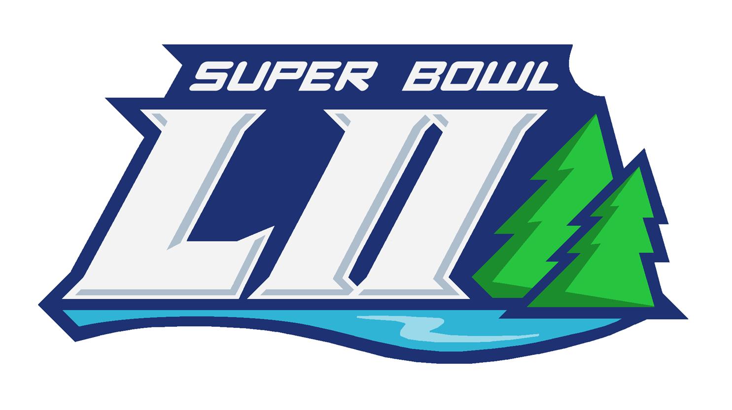 Super bowl 52 logo clipart graphic free download Super Bowl LII Logo Concept - Concepts - Chris Creamer\'s ... graphic free download