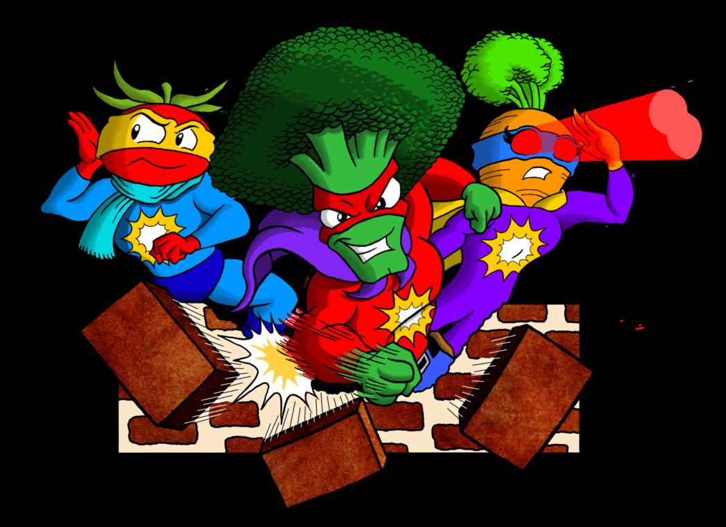 Super clipart banner free download Super Veggie Clipart (Color) by kenisu3000 on DeviantArt banner free download