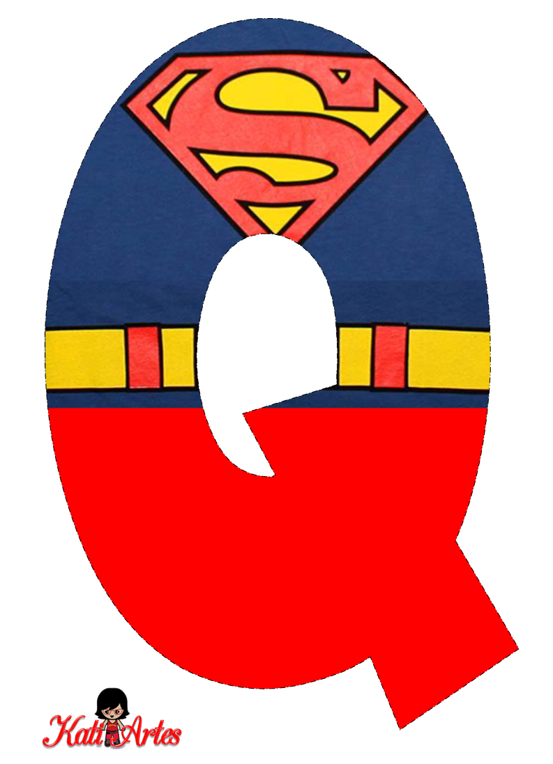 Super cliparts alfabeto clip freeuse Superman Symbol With Different Letters Clipart | Free ... clip freeuse