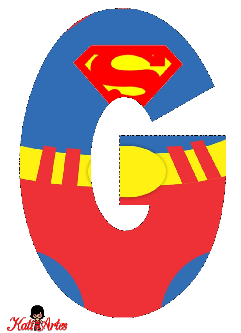 Super cliparts alfabeto picture free Alfabeto SUPER HOMEM 2 | Patterns | Superman party ... picture free