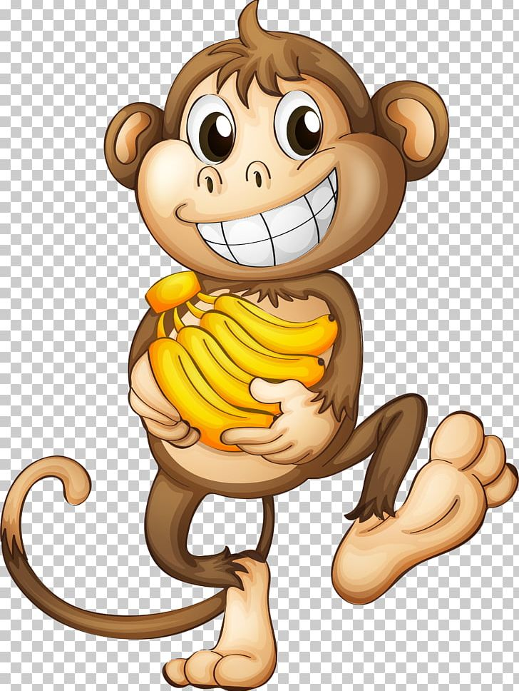 Super courious animal clipart royalty free download Monkey Banana PNG, Clipart, Animals, Art, Big Cats ... royalty free download