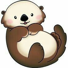 Super cute baby otters clipart banner Top 96 Otter Clip Art - Free Clipart Image   Rocks   Animal ... banner