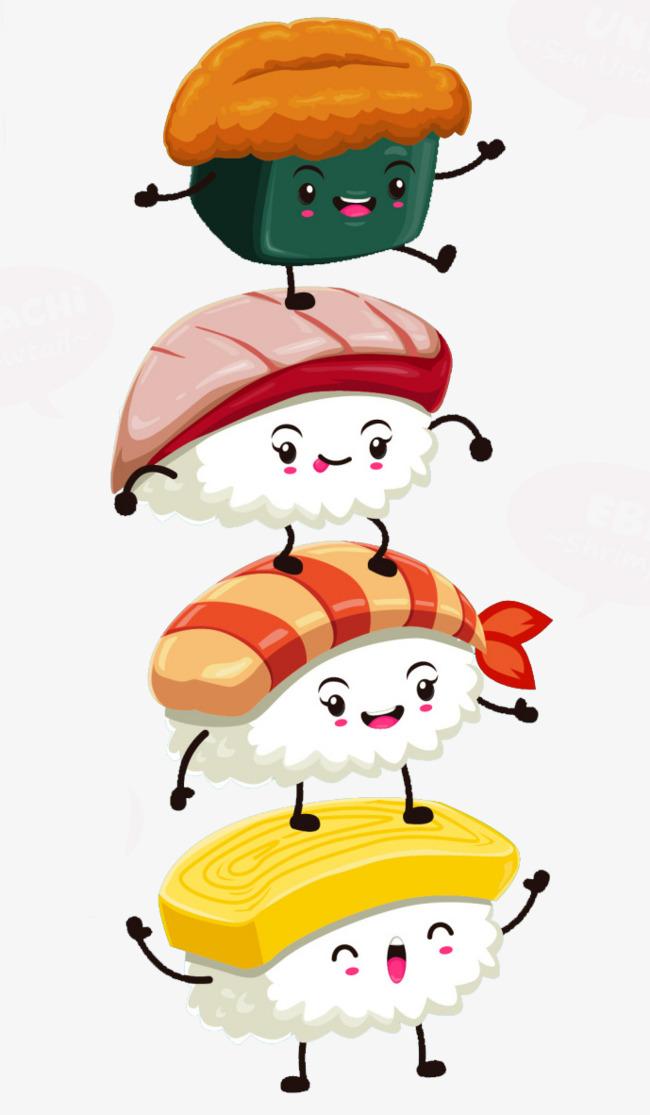 Super cute clipart image library stock Super Cute Sushi, Cute Clipart, Sushi Cl #451025 - PNG ... image library stock