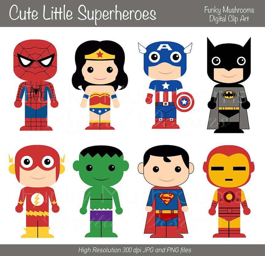 Super cute super hero baby clipart png freeuse download Boy Superhero Clip Art / Little Boys Superheroes / Superboys ... png freeuse download