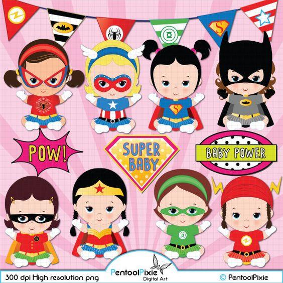 Super cute super hero baby clipart image transparent Superhero baby girl clipart, Super baby, Baby girl clipart | Baby ... image transparent