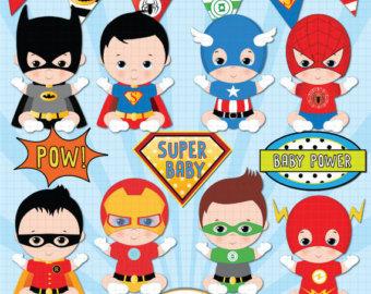 Super cute super hero baby clipart image transparent library Super cute superhero baby clipart - ClipartFest image transparent library