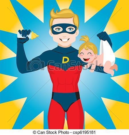 Super dad clipart vector freeuse Super dad clipart - ClipartFest vector freeuse