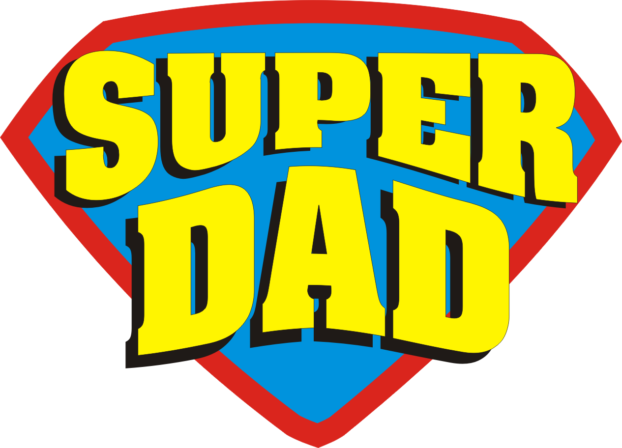 Super dad clipart clip art black and white stock Super dad clipart - ClipartFest clip art black and white stock