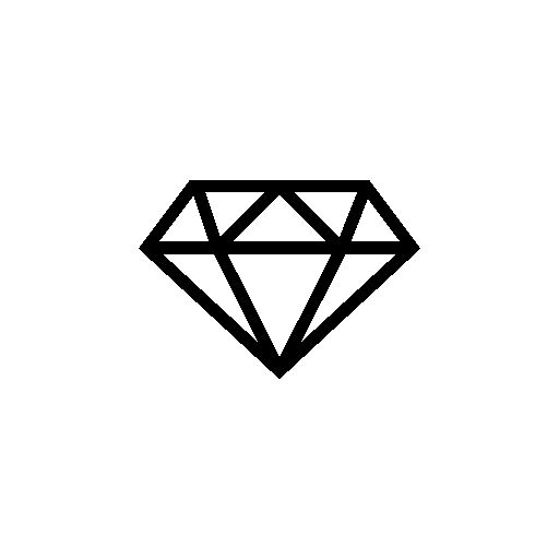 Super diamong outline clipart image library download Diamond outline free icon   I dance-inspiration for costumes ... image library download