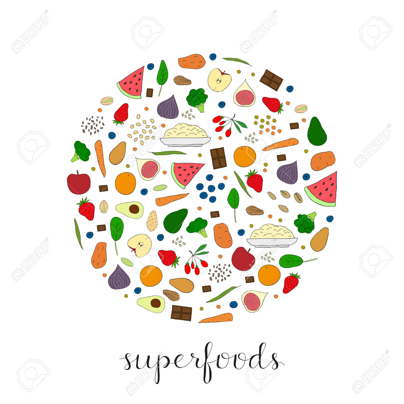 Super food clipart jpg transparent stock 1,718 Super Food Stock Vector Illustration And Royalty Free Super ... jpg transparent stock