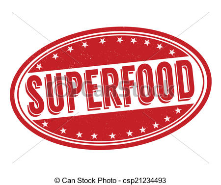 Super food clipart graphic Vector Clipart of Superfood stamp - Superfood grunge rubber stamp ... graphic