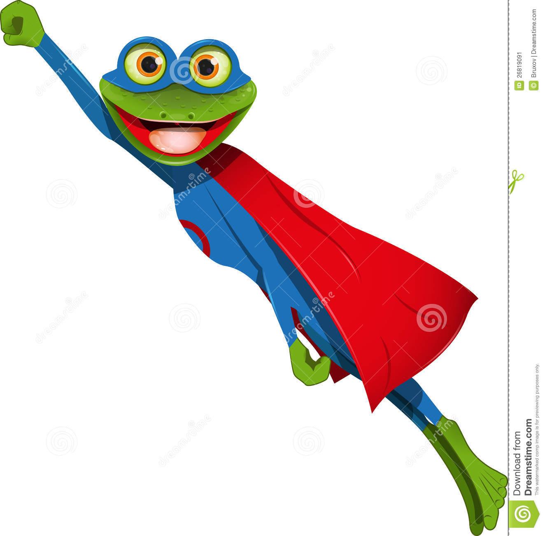 Super frog clipart svg freeuse download Frog Superman Stock Image - Image: 26819091 svg freeuse download
