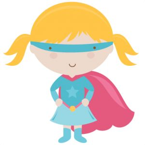 Super girl clipart vector royalty free 50¢ Store - Miss Kate Cuttables | Product Categories Scrapbooking ... vector royalty free