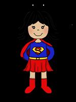 Super girl clipart clip art black and white stock Supergirl Clipart | Free Download Clip Art | Free Clip Art | on ... clip art black and white stock