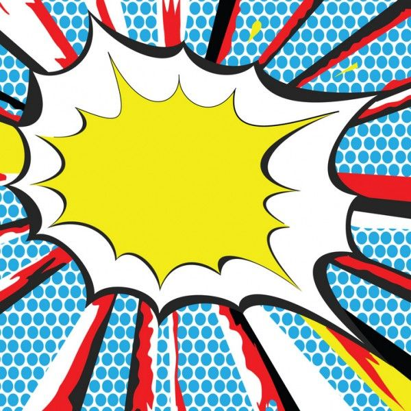 Super hero clipart background